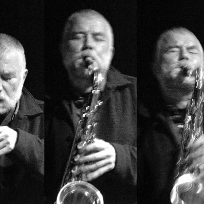 Peter Brötzmann ( Bild: Seth Tisue/ http://www.flickr.com/photos/tisue/136411242/ )